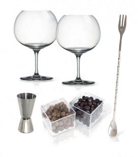 Set Gin Tonic Vin Bouquet c/Botanical e Glasss