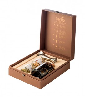 Box Luxury Gin Red Wine Premium 40º