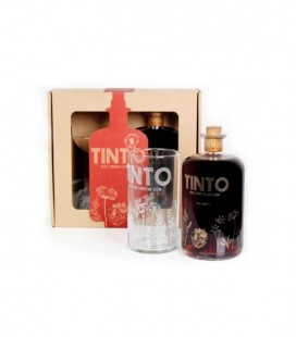Gin Tinto Red Premium  with glass