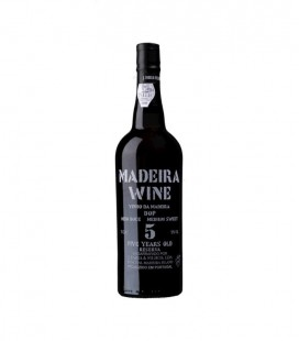 Madeira J. Faria Half Sweet 5 Years