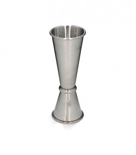 Measuring Cup 25/50ml Silver Decanter