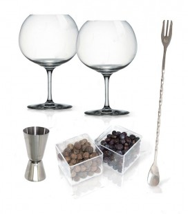 Set Gin Tonic Vin Bouquet c/Botanical e Glasss