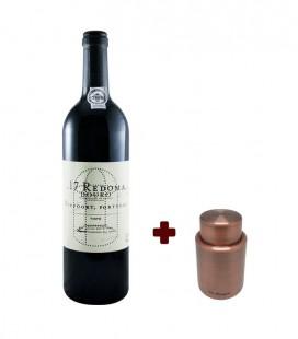 Set Redoma Red Wine 2017 + Vacuum Stopper Vin Bouquet Vintage