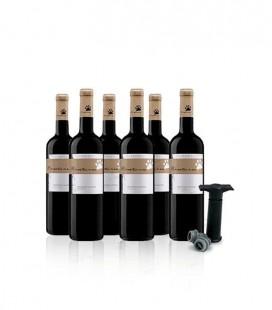 Montaria Reserve Red Wine 2017 + Vacuum Pump