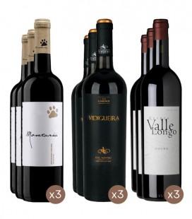 Montaria Red Wine 2017 + Vidigueira Colheita Red Wine 2018 + Valle Longo Red Wine 2017
