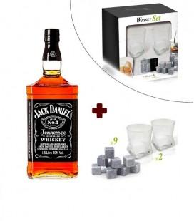 Conjunto Jack Daniel's + Conjunto Whisky Vin Bouquet