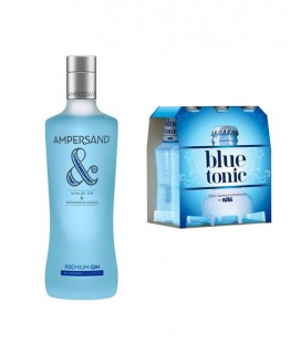 Pack Gin Ampersand Blueberry + 6 Tonic Water Blue