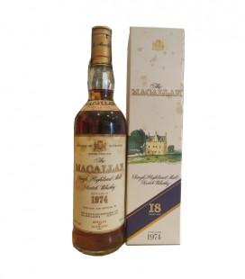 Macallan 18 Years old Single Malt 1974