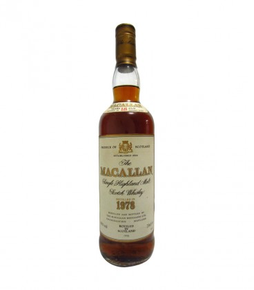 Macallan Single Malt 1978