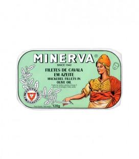 Filetes de Cavala em Azeite Refinado 120g Minerva
