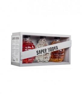 Saper Vodka 3x20cl Grenade